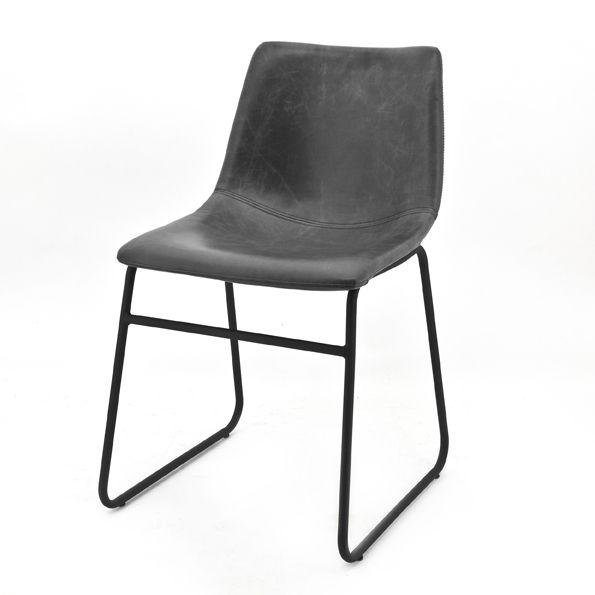 0802 Chair Logan Black Kopen