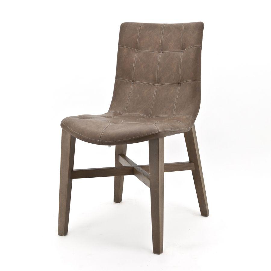 90141 Eetstoel Neba – bruin vintage Kopen