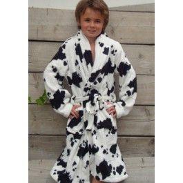Little Cow badjas / Kinder badjas Kopen