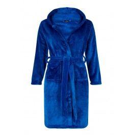 Tiener badjas koningsblauw – maat 134 tot 176 Kopen