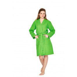 Groene kimono badjas dames Kopen