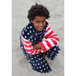 Kinderbadjas USA Kopen