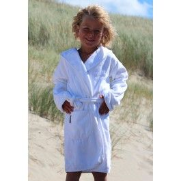 Kinderbadjas wit Kopen