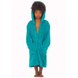 Turquoise badjas Woody Kopen