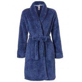 Korte badjas van fleece Kopen