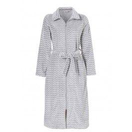 Fleece badjas rits – Lang model Kopen