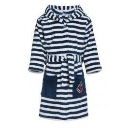 Kinderbadjas met strepen Kopen