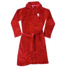 Rode kinderbadjas met rits Kopen