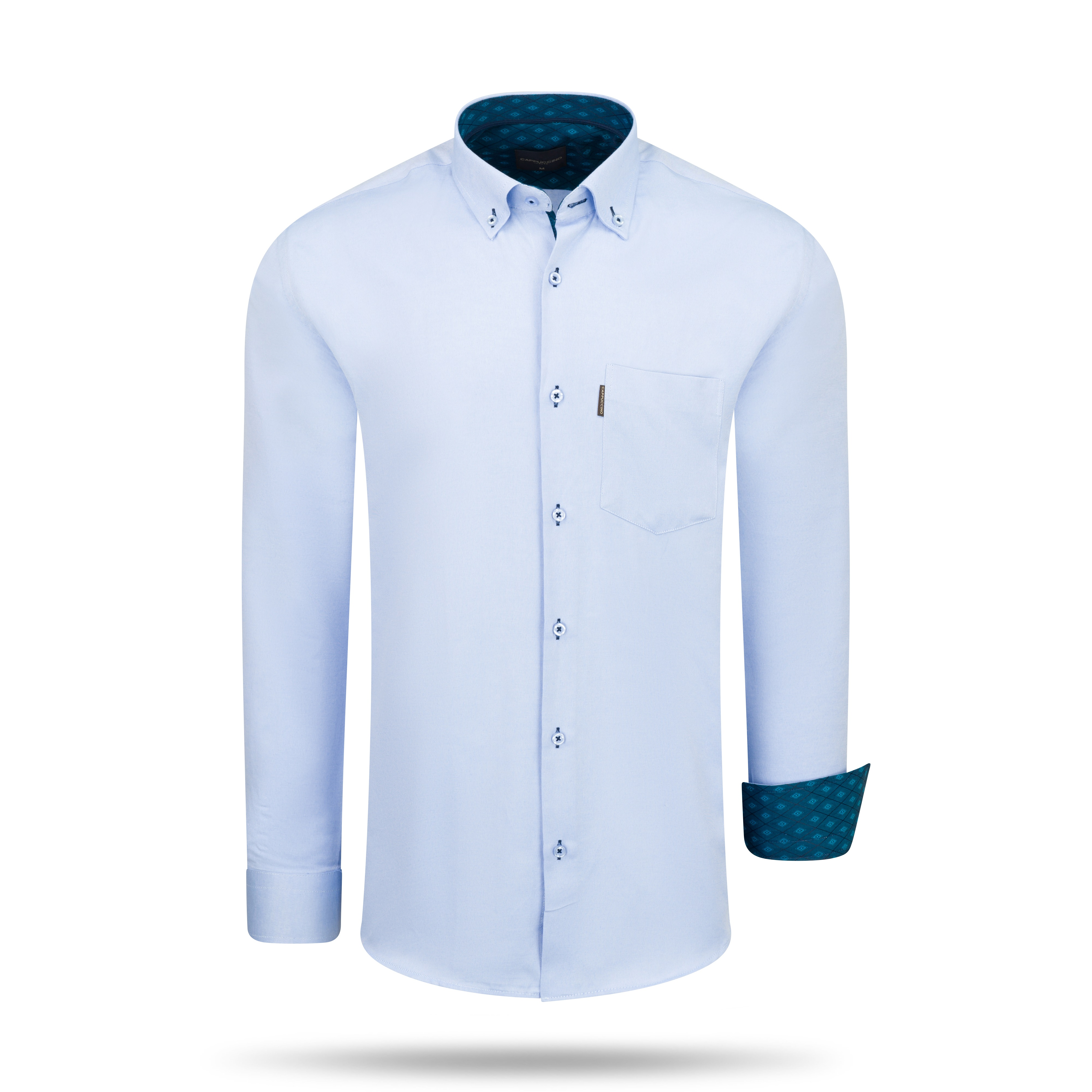 Regular Fit Overhemd Baby Blue