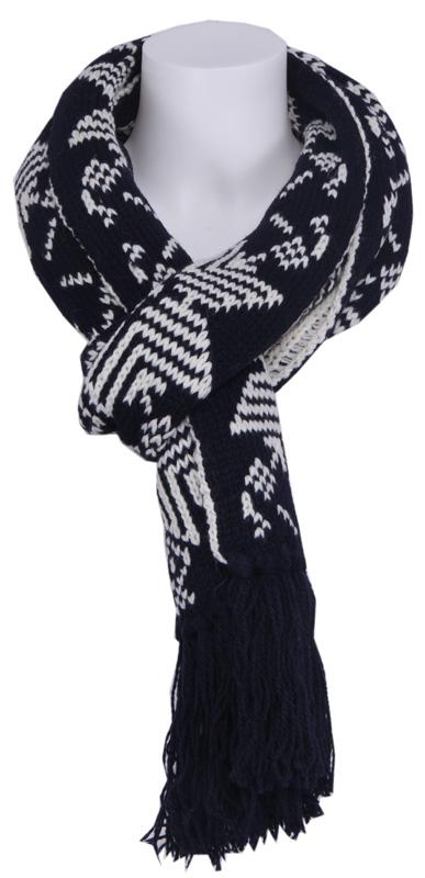 Snow star sjaal – Zumo – Accessoires – Zwart Kopen