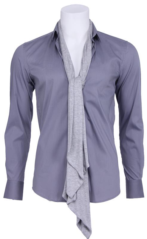 Pop heart overhemd – Antony Morato – Overhemden – Grijs Kopen