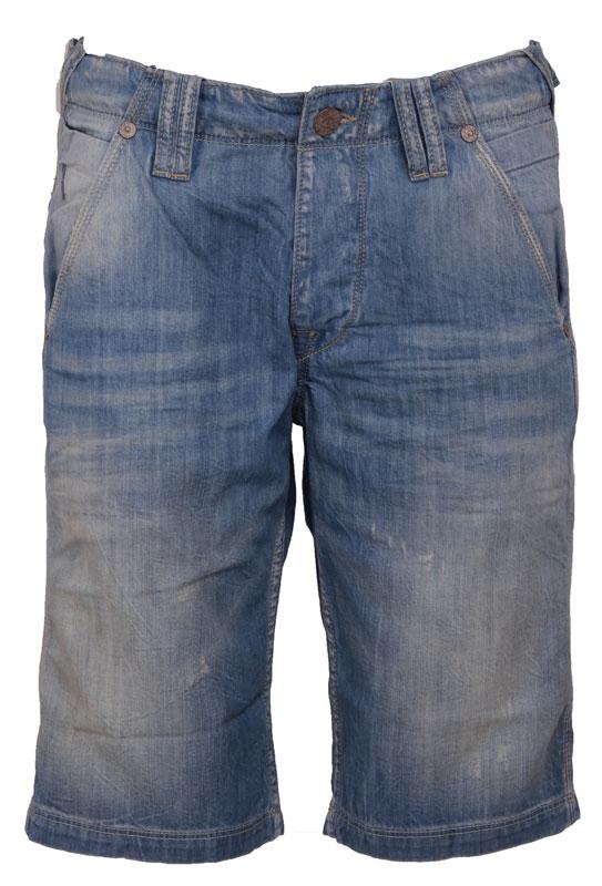 MANTZ SHORT – Pepe Jeans – Broeken – Blauw Kopen