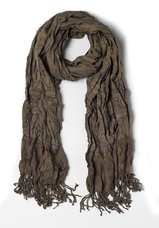 Scarf with wrinkled effect – Antony Morato – Accessoires – Groen Kopen