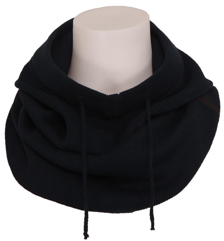 5011 Zeno – Hooded scarf – Zumo – Accessoires – Blauw Kopen