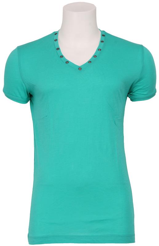4017 MINIMAL ROCK – Antony Morato – T-shirts – Groen Kopen