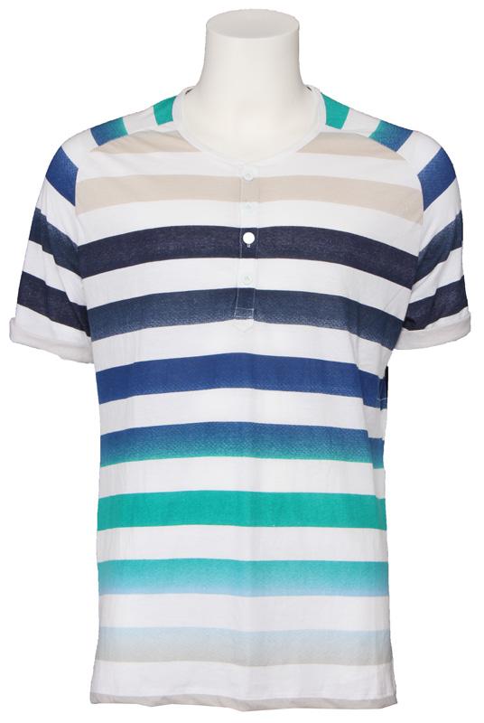 T-shirt JC Rags – knoopjes – Uniform Blue Kopen