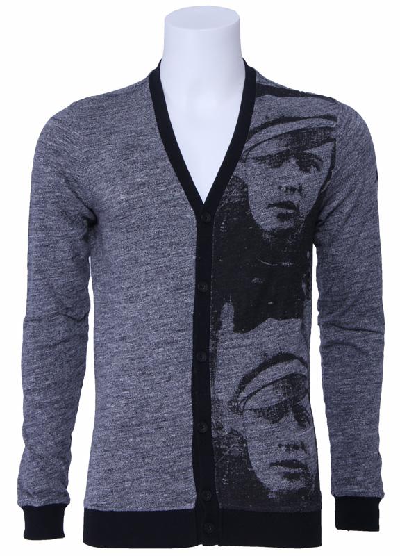 Pepe Jeans vest – Andy Warhol – Zwart/Grijs Kopen