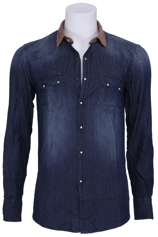 Denim Sushi Bar – Antony Morato – Overhemden – Blauw Kopen