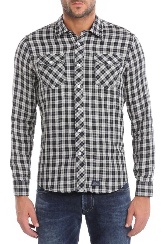 Osborn overhemd – Energie – Overhemden – Blauw Kopen