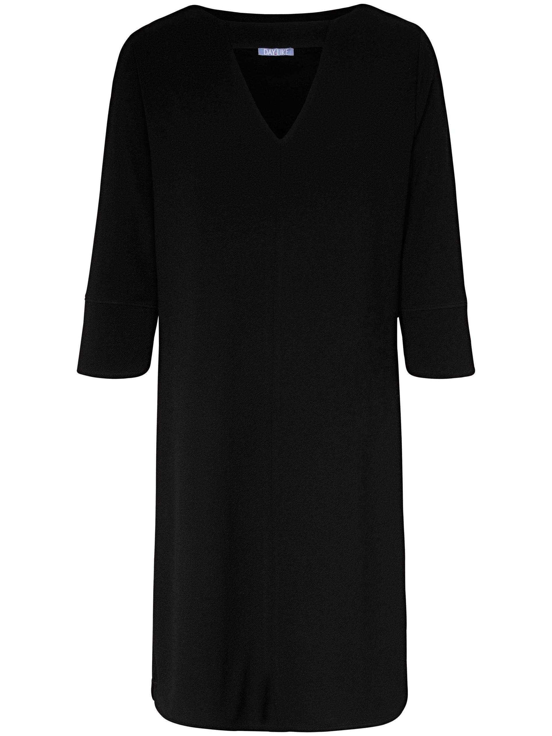 Jerseyjurk met 3/4 mouwen Van DAY.LIKE zwart Kopen