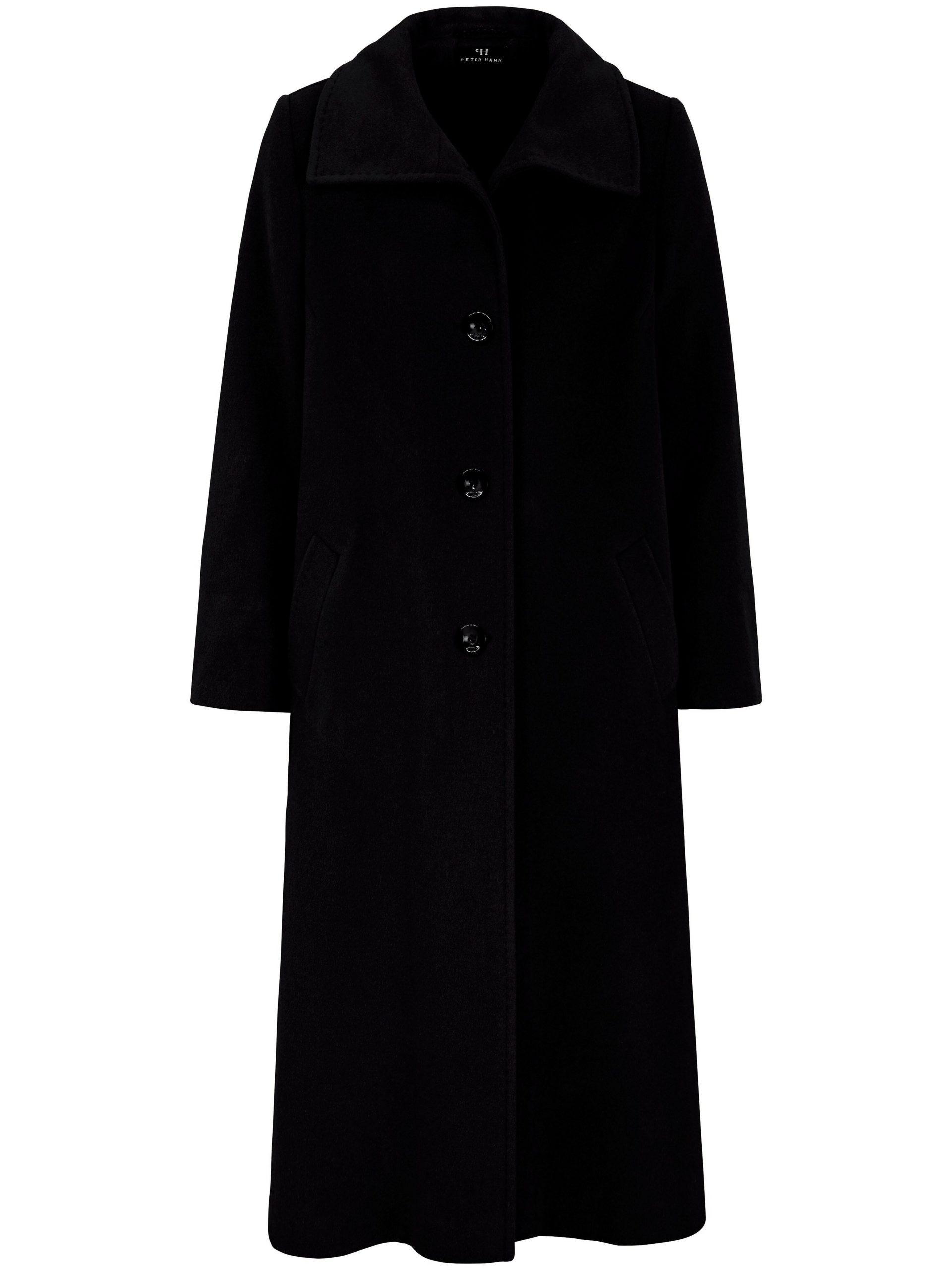 Lange jas Van Peter Hahn zwart Kopen