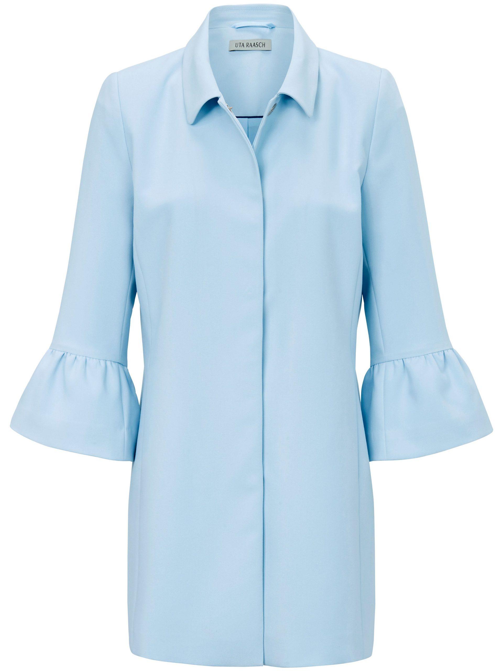 Lange blazer Van Uta Raasch blauw Kopen