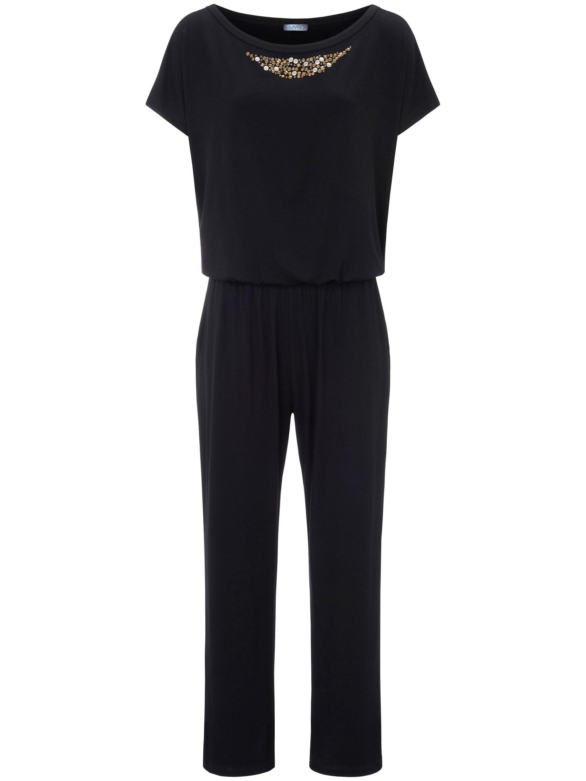 Jersey-jumpsuit Van MYBC zwart Kopen