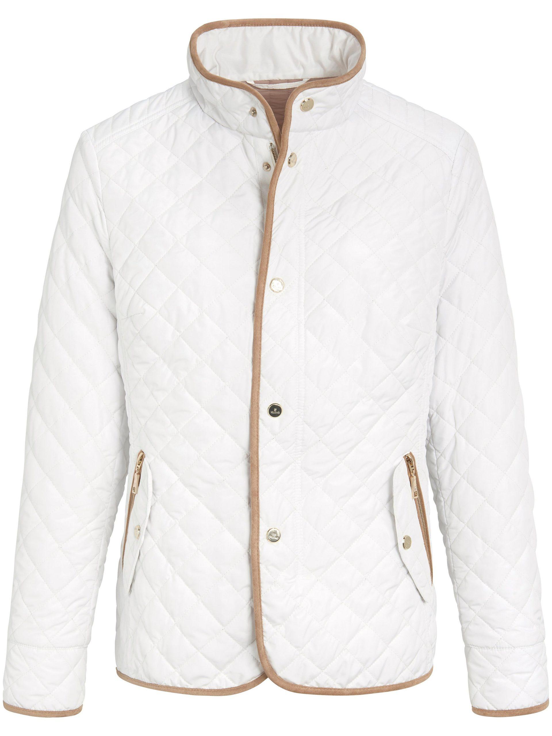 Gewatteerde jas Van Basler wit Kopen