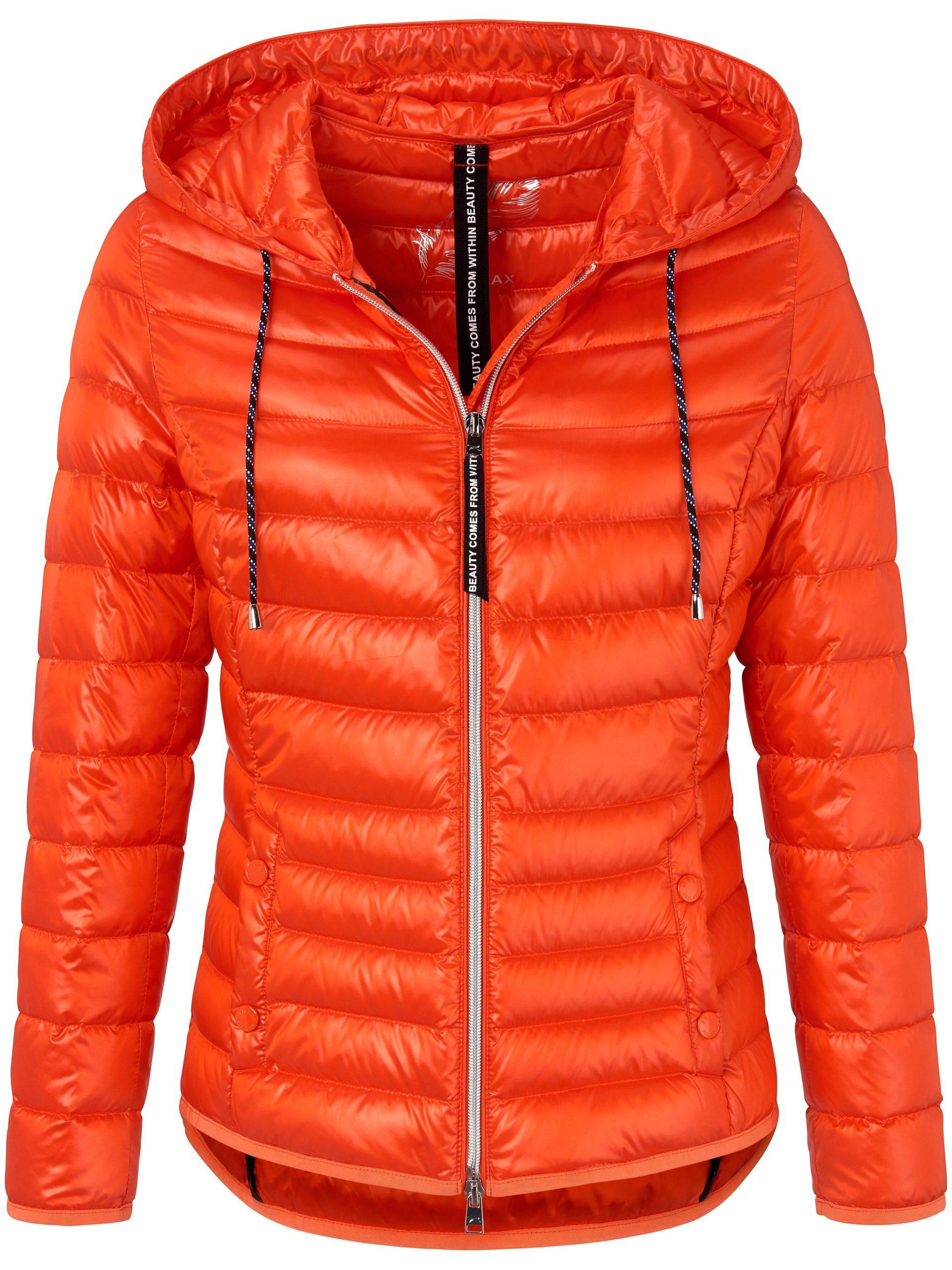 Doorgestikt jasje Van Brax Feel Good oranje Kopen