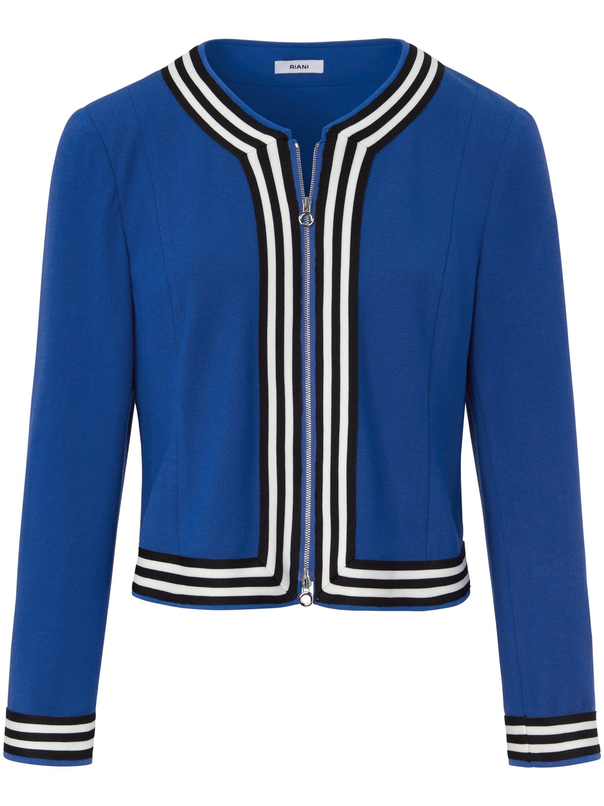 Jerseyblouson Van Riani blauw Kopen