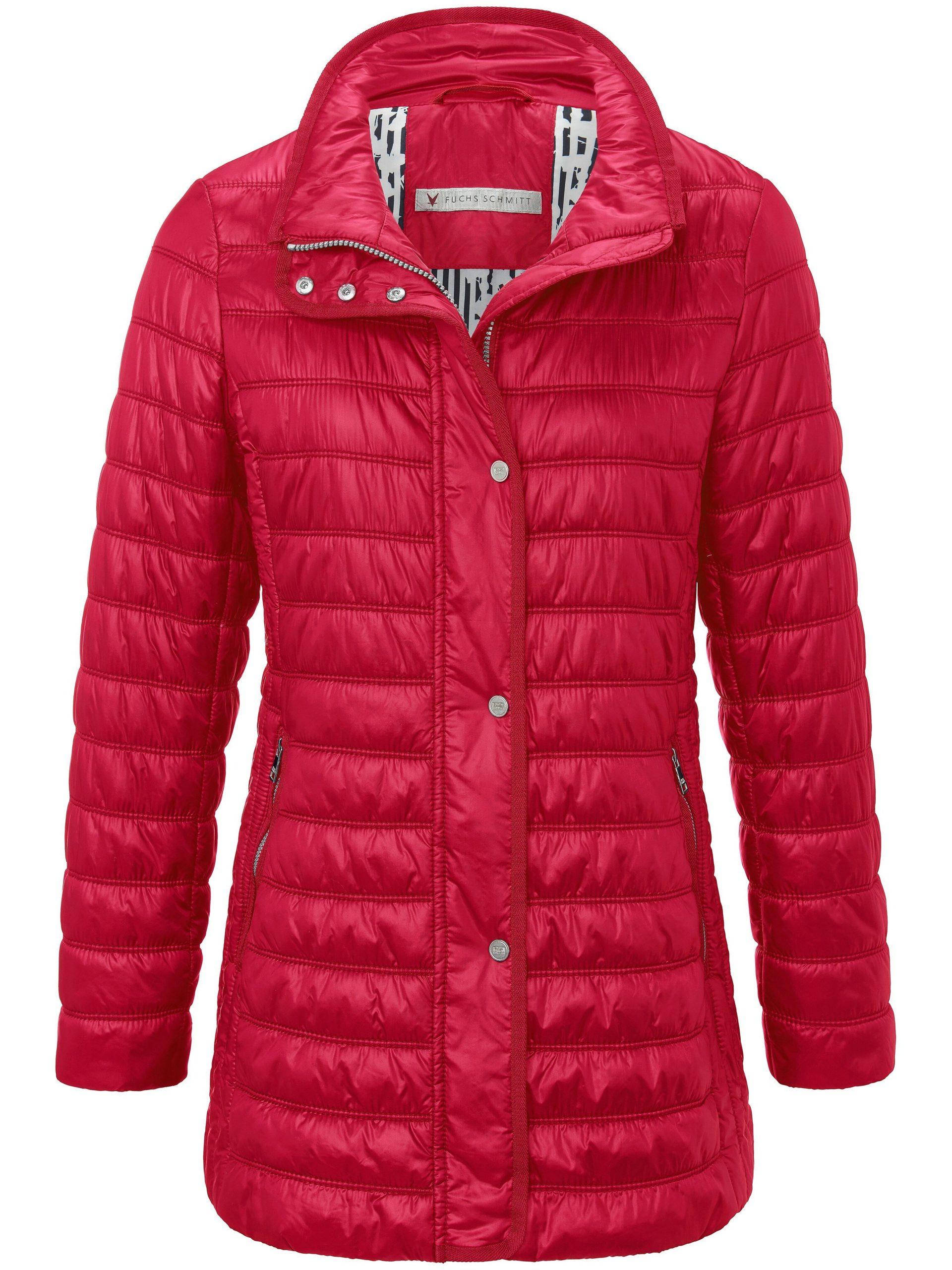Doorgestikte jas met staande kraag Van Fuchs & Schmitt rood Kopen