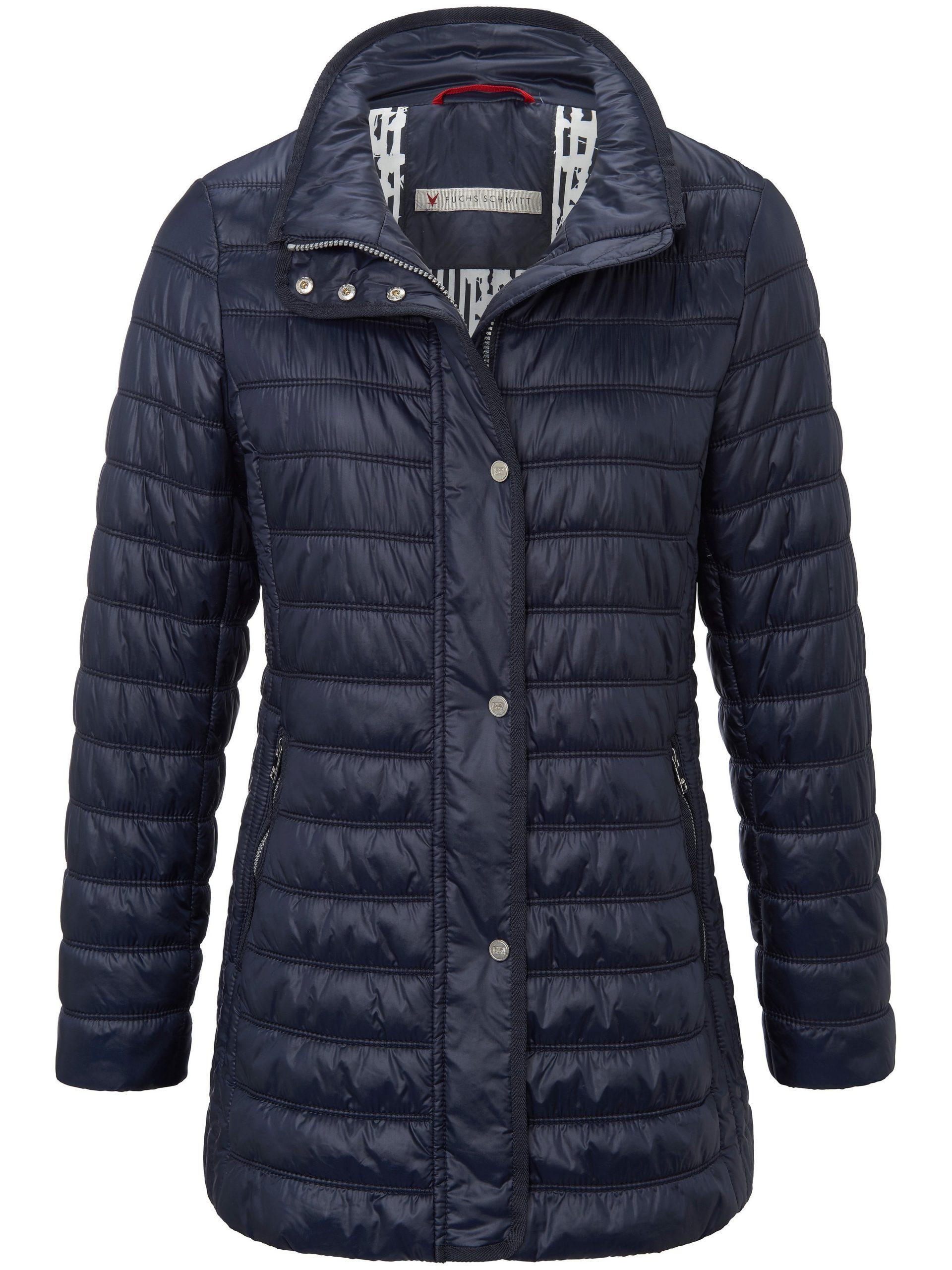 Doorgestikte jas met staande kraag Van Fuchs & Schmitt blauw Kopen