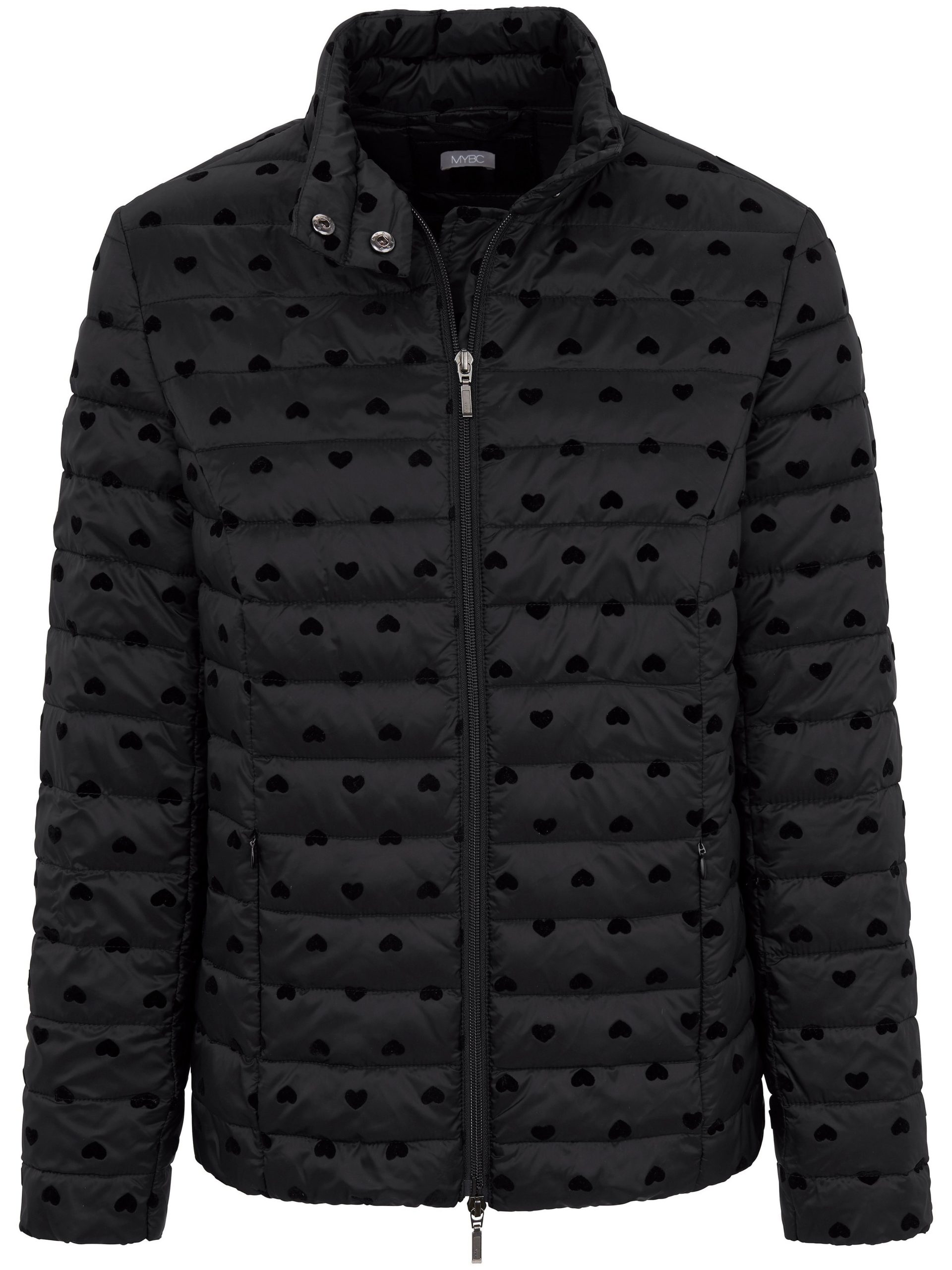 Gewatteerde jas Van MYBC zwart Kopen
