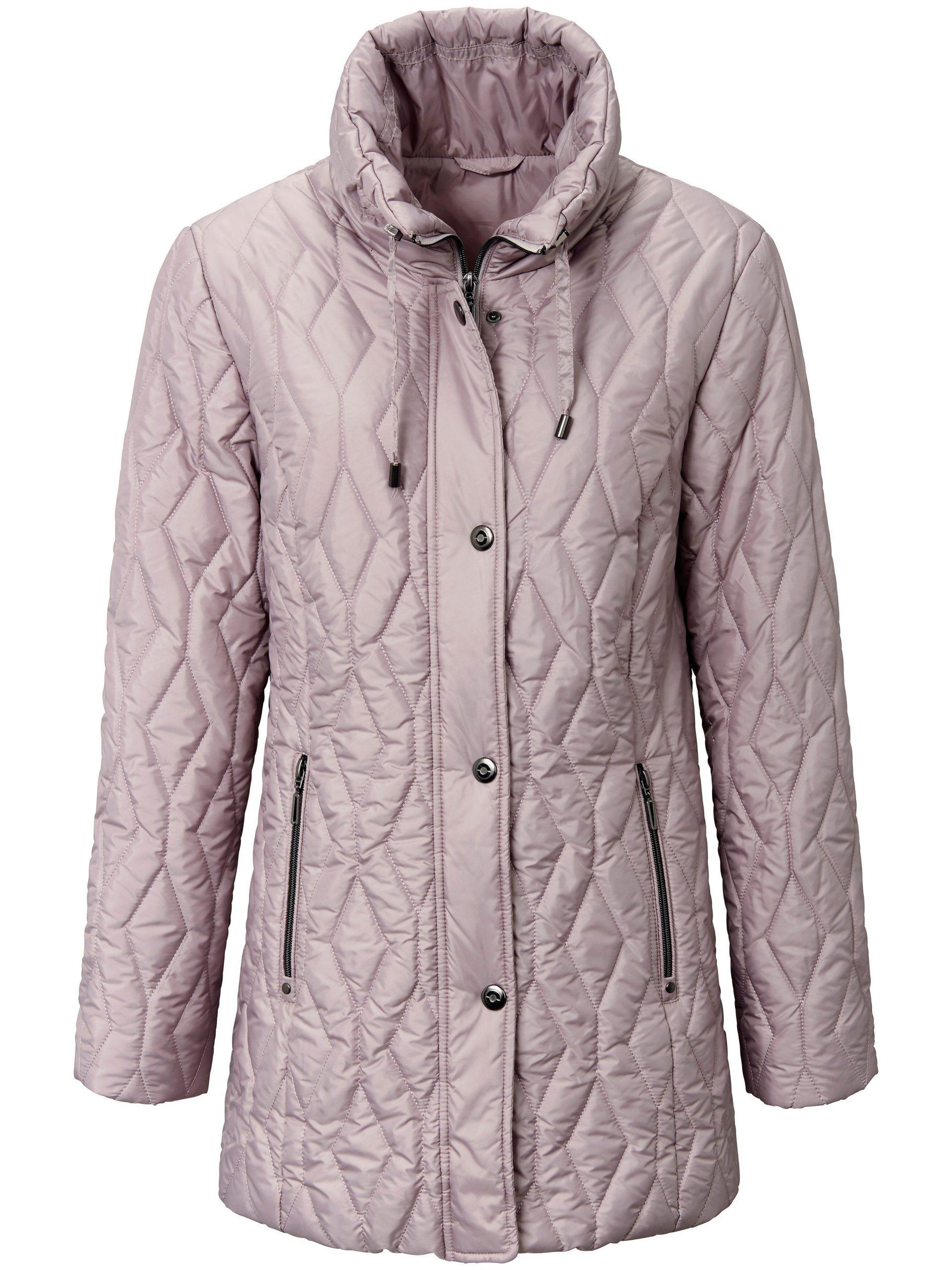 Gewatteerde jas Van mayfair by Peter Hahn lichtroze Kopen