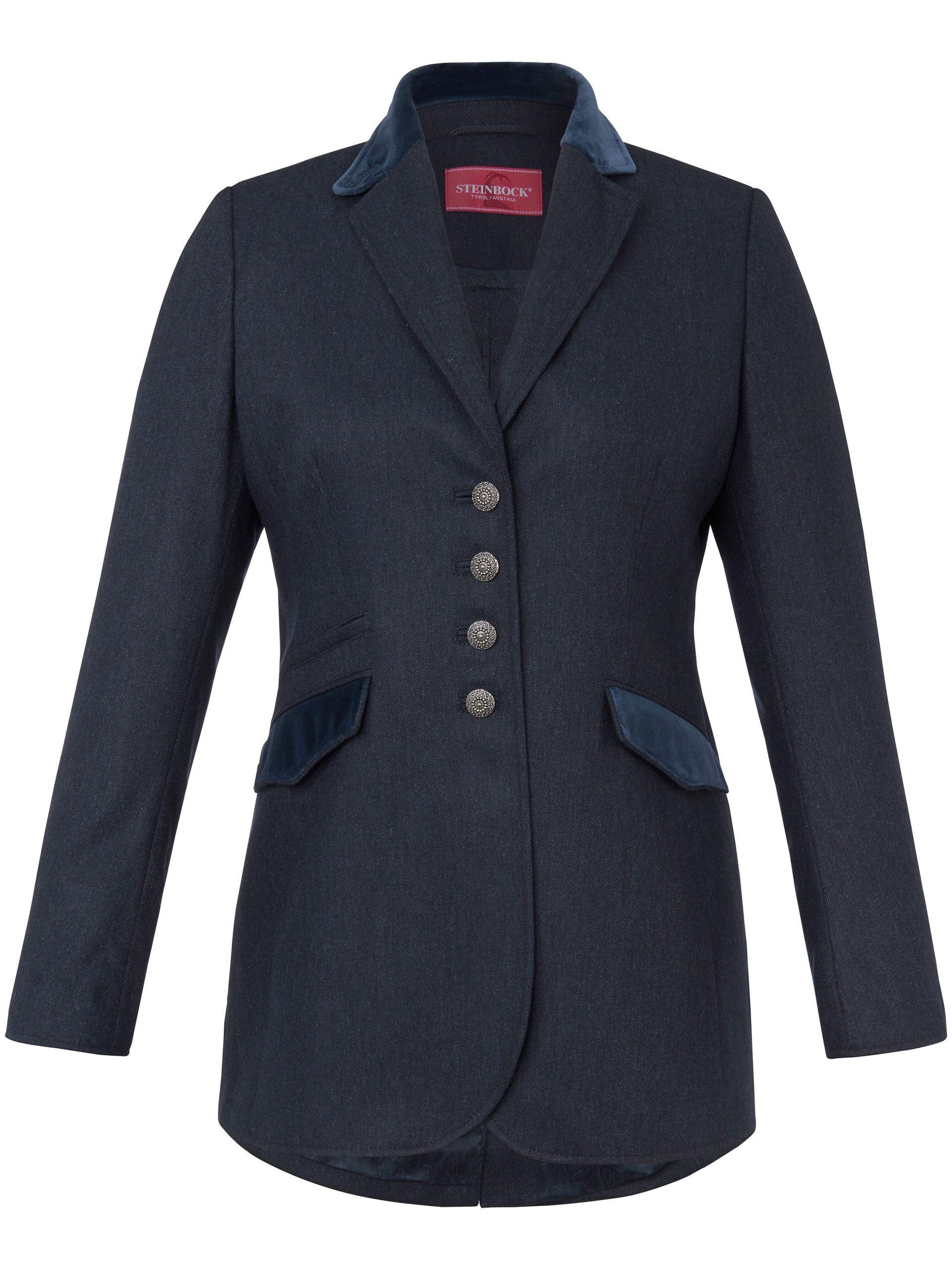 Lange blazer Van Steinbock blauw Kopen