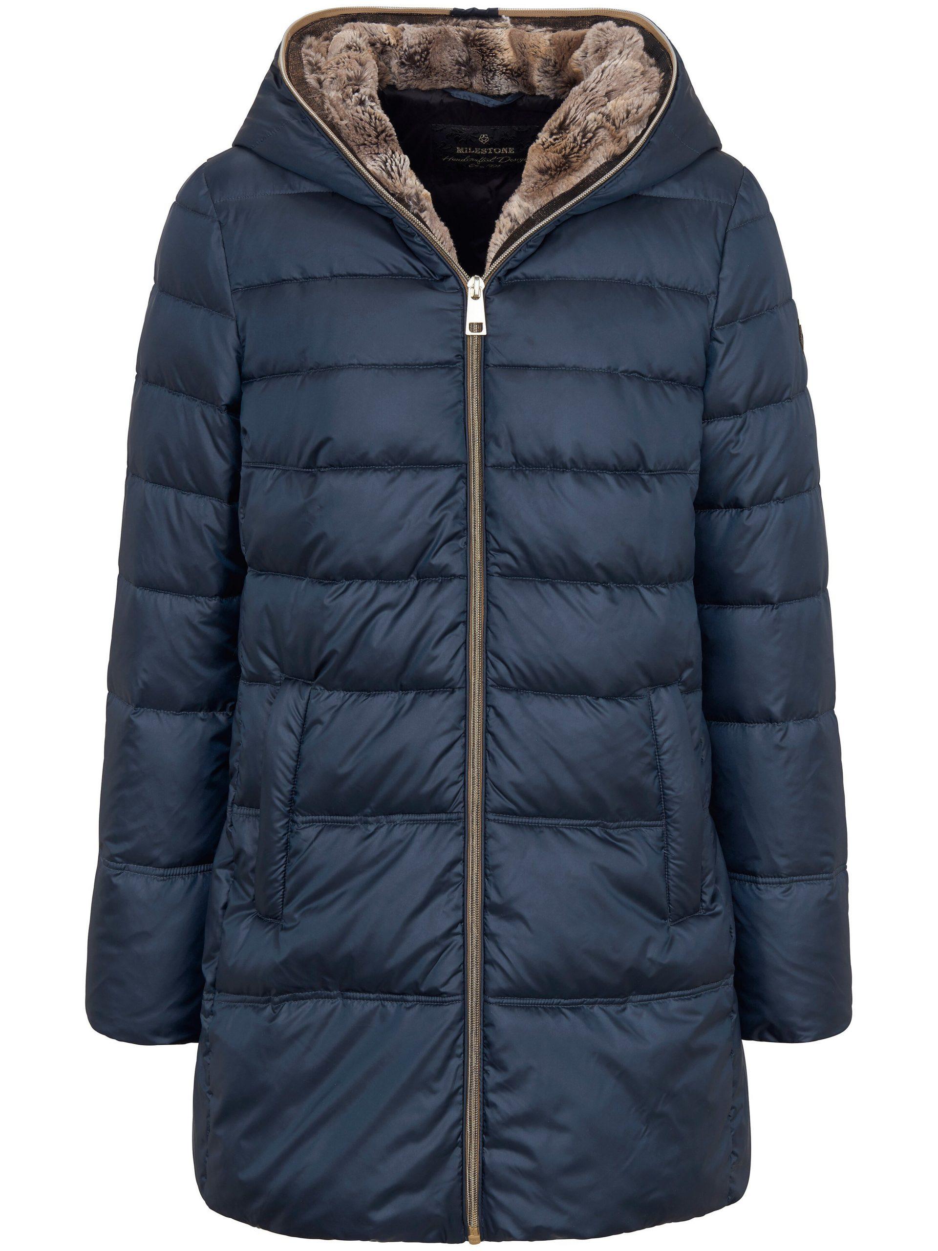 Gewatteerde jas Van Milestone blauw Kopen