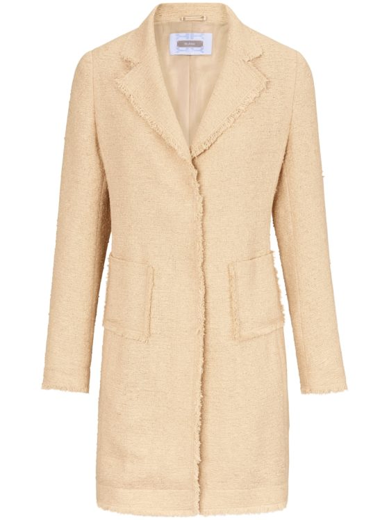 Lange blazer in zomerse premium-kwaliteit Van Riani beige Kopen