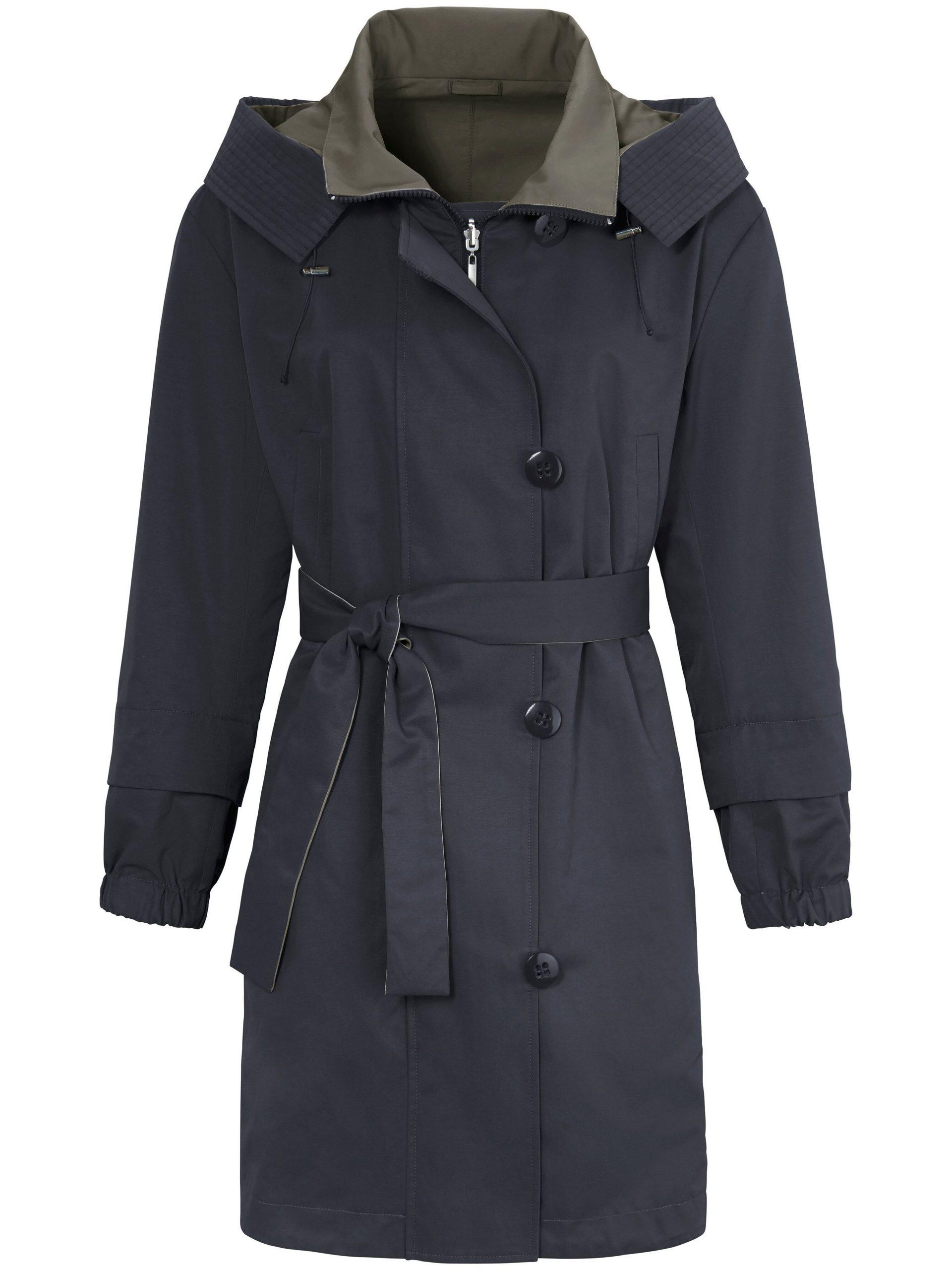 Tweezijdig te dragen jas met capuchon Van MYBC multicolour Kopen