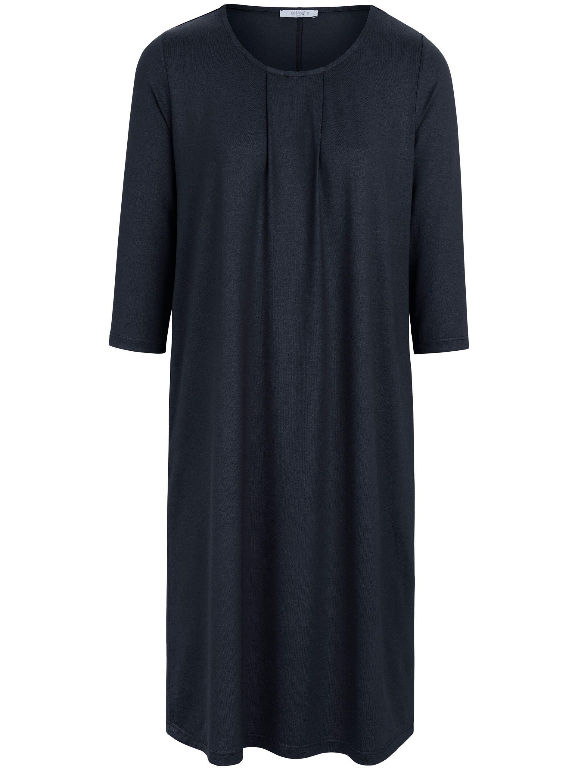 Jerseyjurk met 3/4-mouwen Van Efixelle blauw Kopen