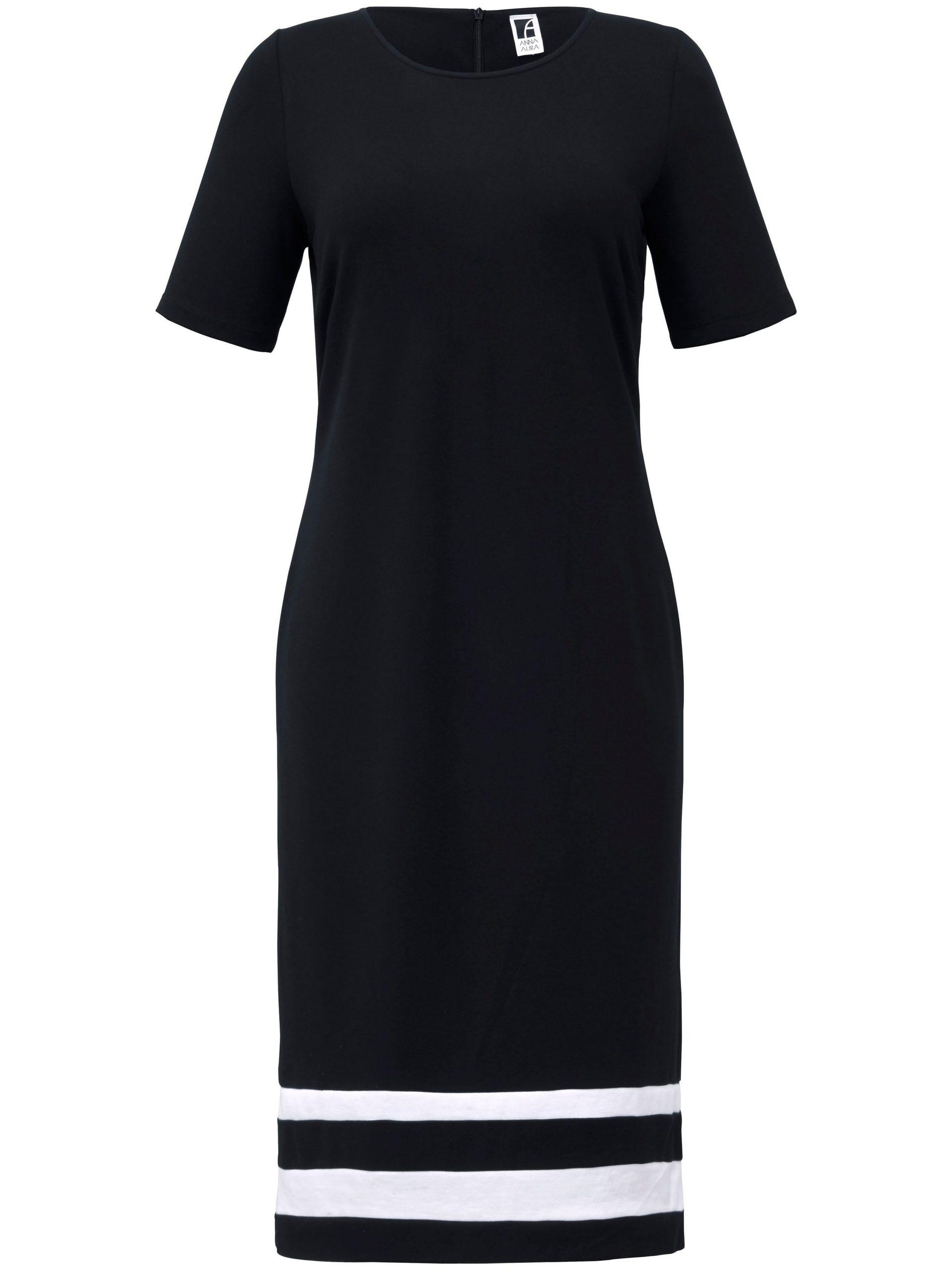 Jerseyjurk in kokerstijl Van Anna Aura zwart Kopen