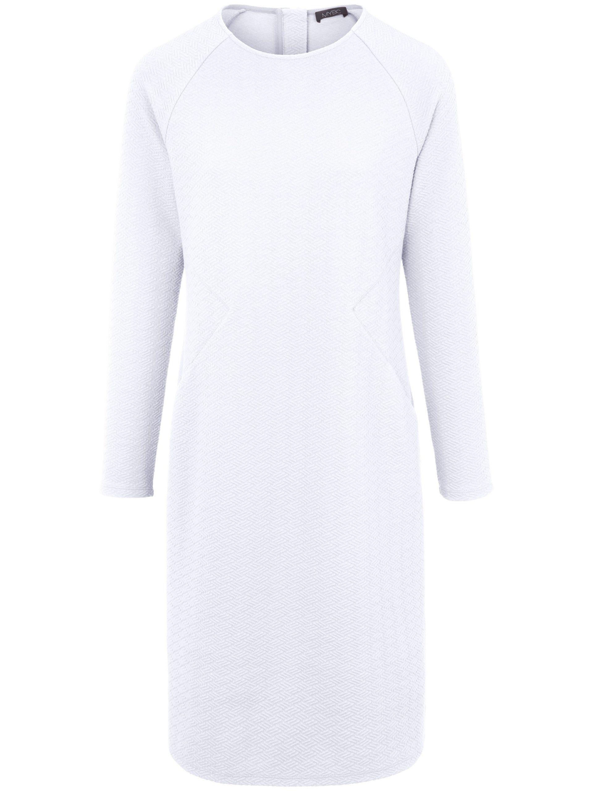 Jerseyjurk met lange mouwen Van MYBC wit Kopen