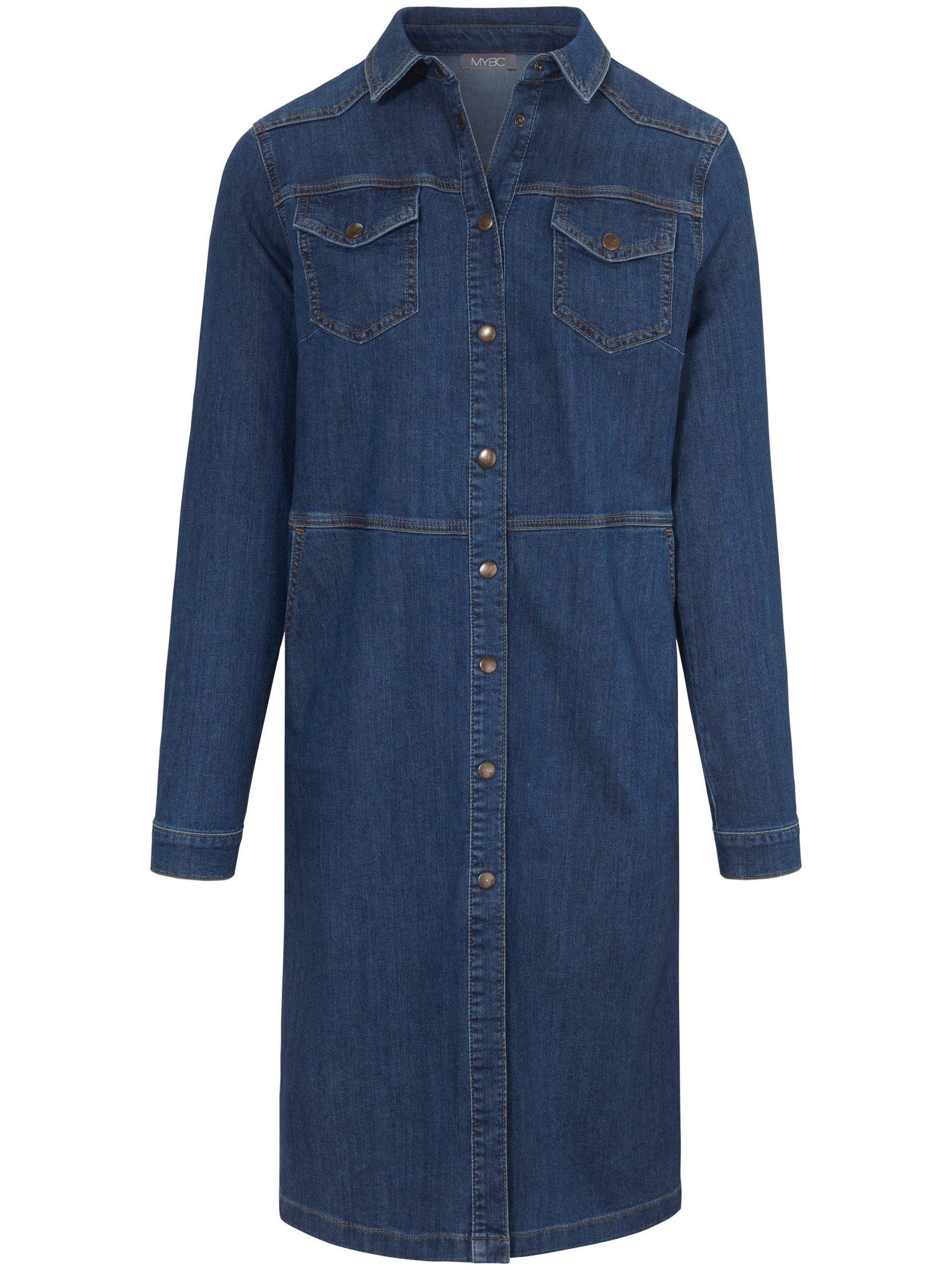 Jeansjurk in recht model Van MYBC denim Kopen
