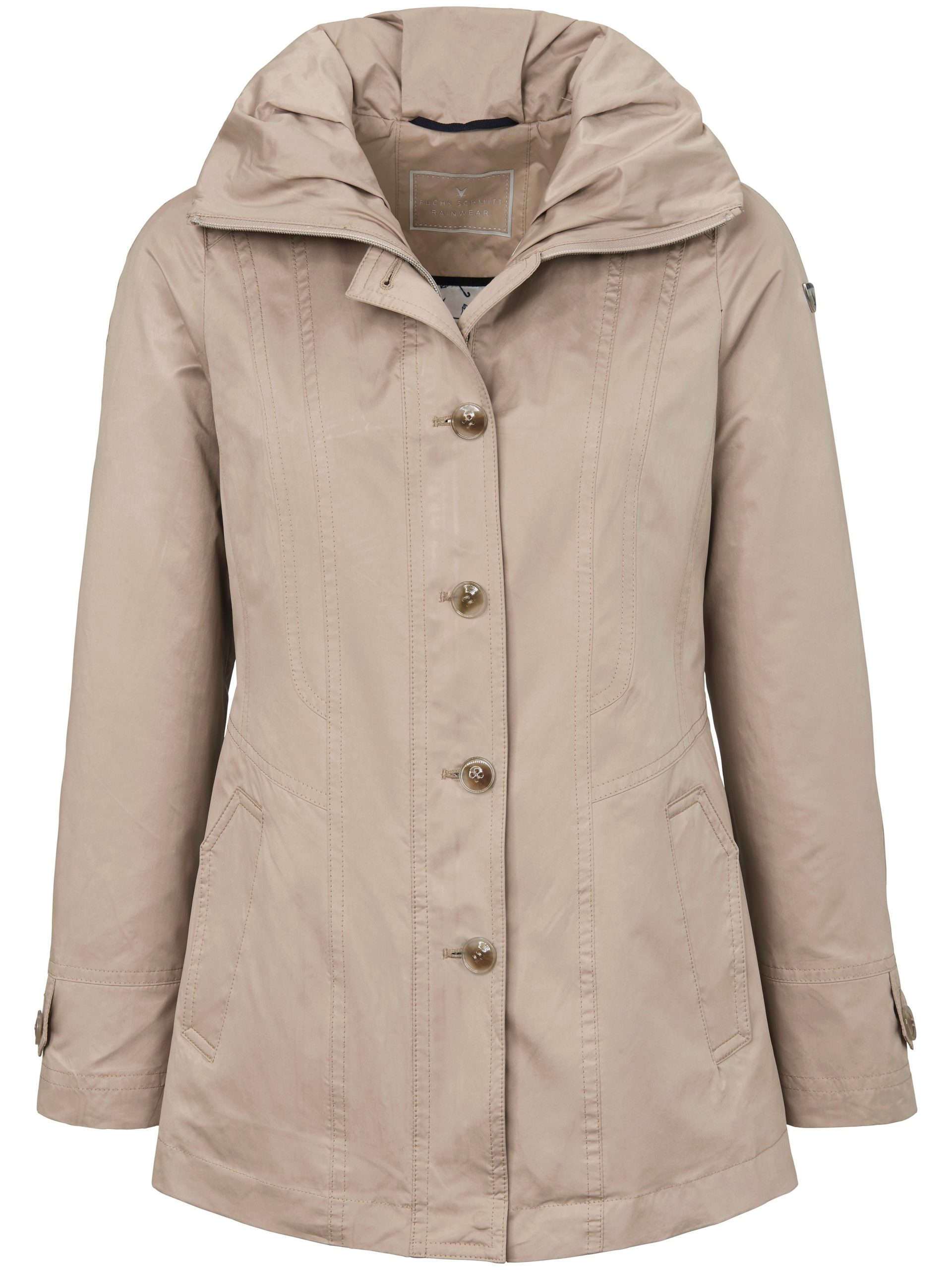 Rainwear-jas met staande kraag Van Fuchs & Schmitt beige Kopen