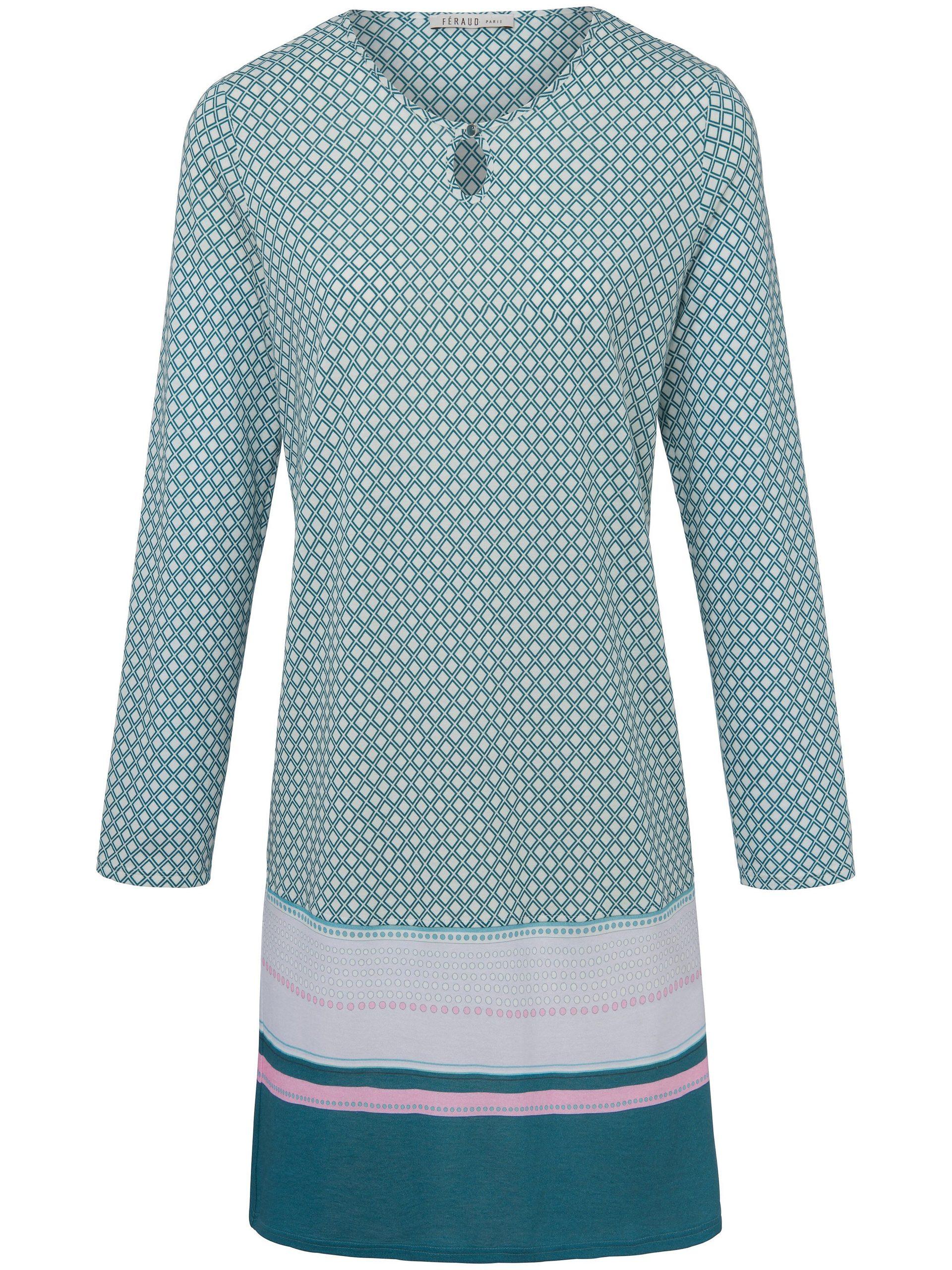 Nachthemd Van Féraud turquoise Kopen