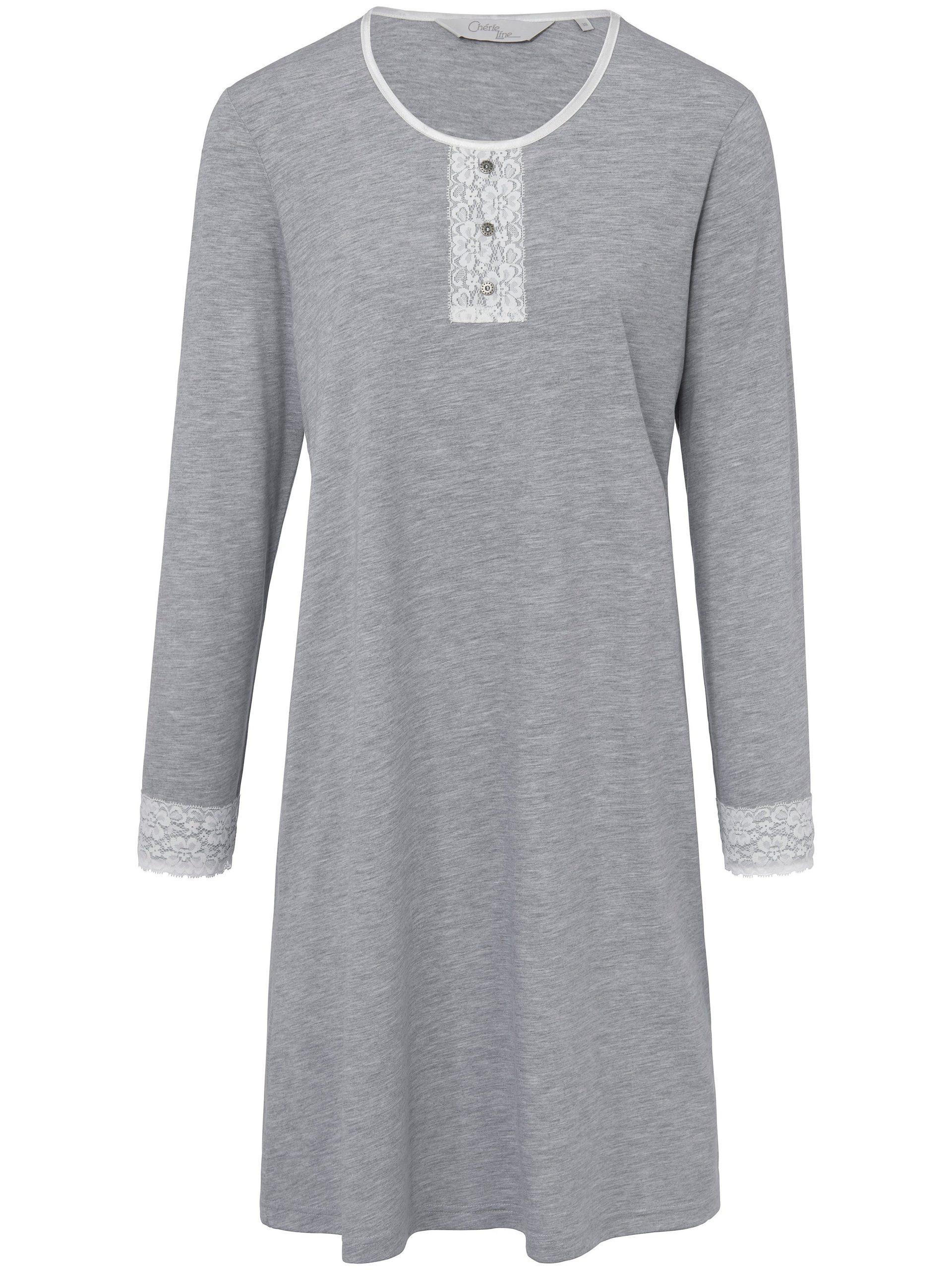 Nachthemd Van Cherie Line grijs Kopen