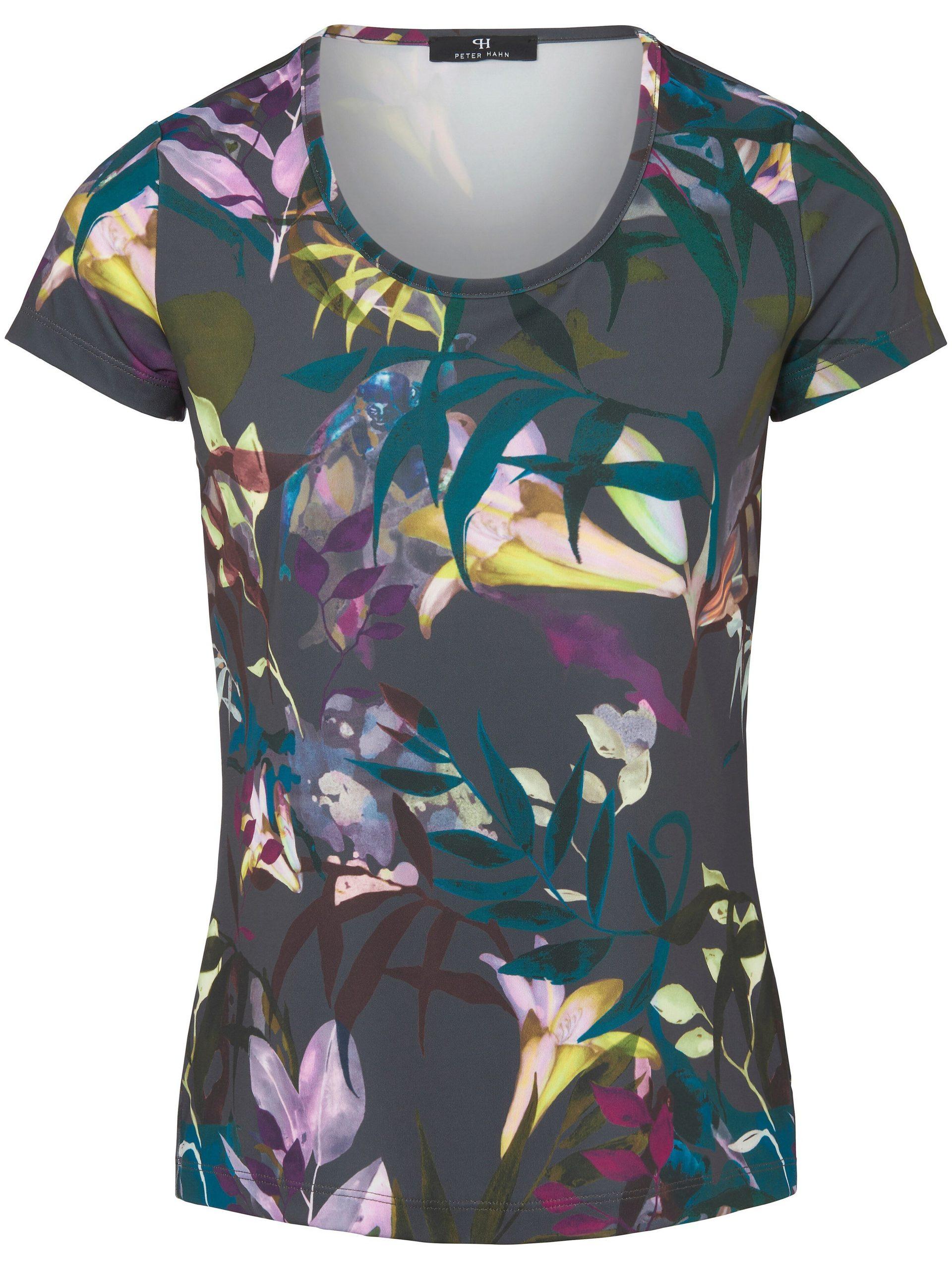 Shirt met ronde hals Van Peter Hahn multicolour Kopen