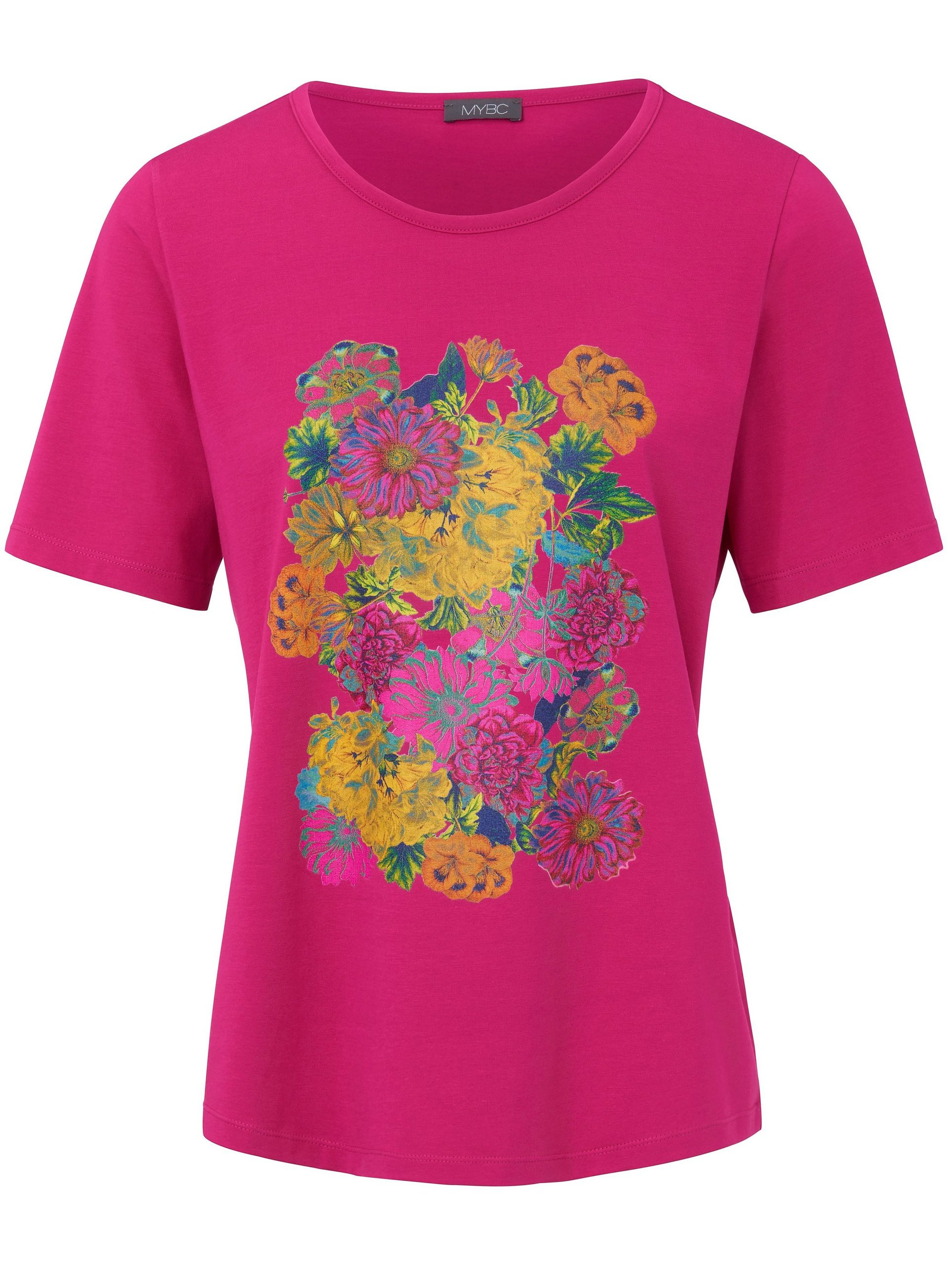 Shirt met ronde hals Van MYBC roze Kopen