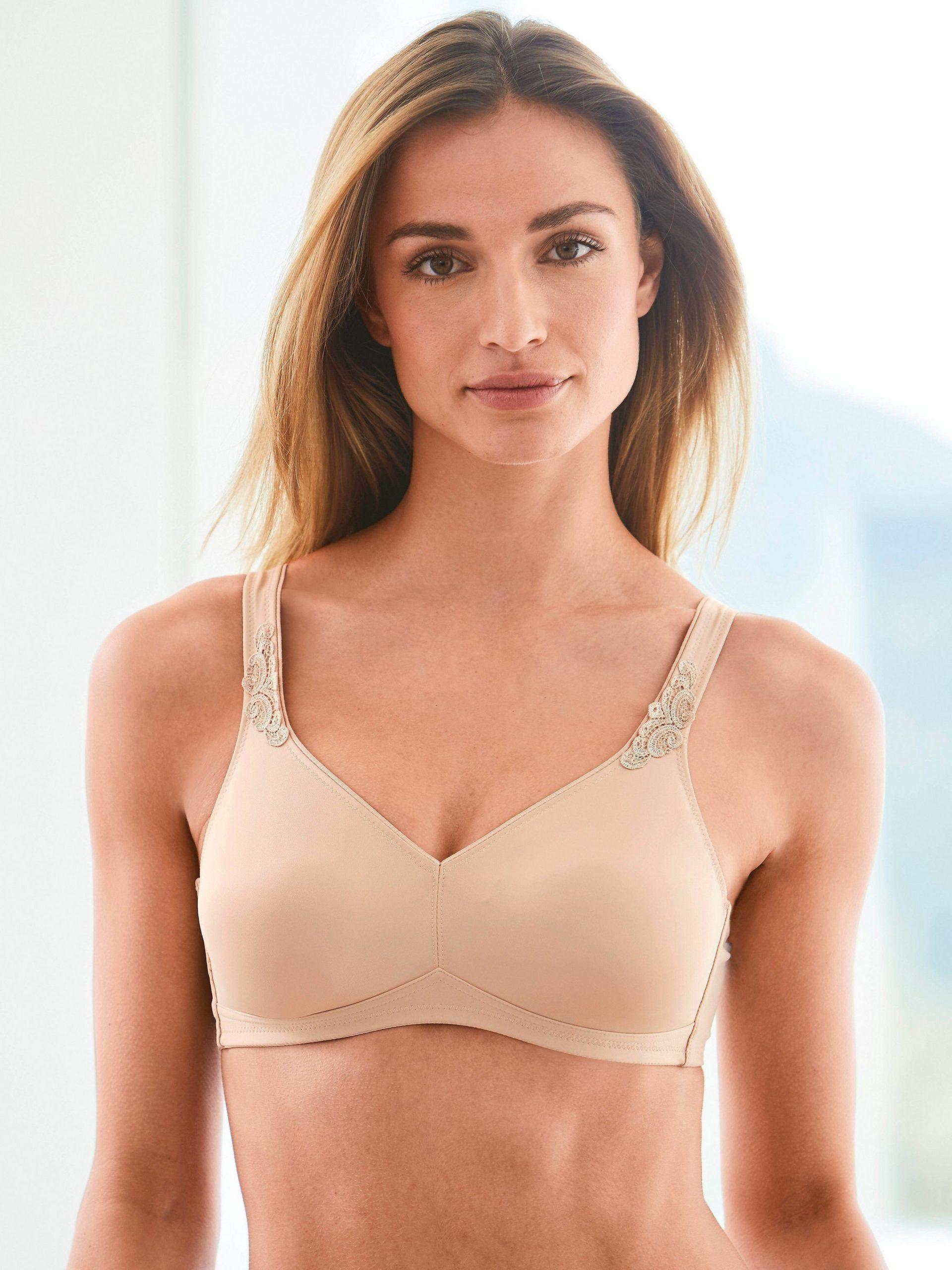 Soft-beha, model Grazia Van Rosa Faia beige Kopen