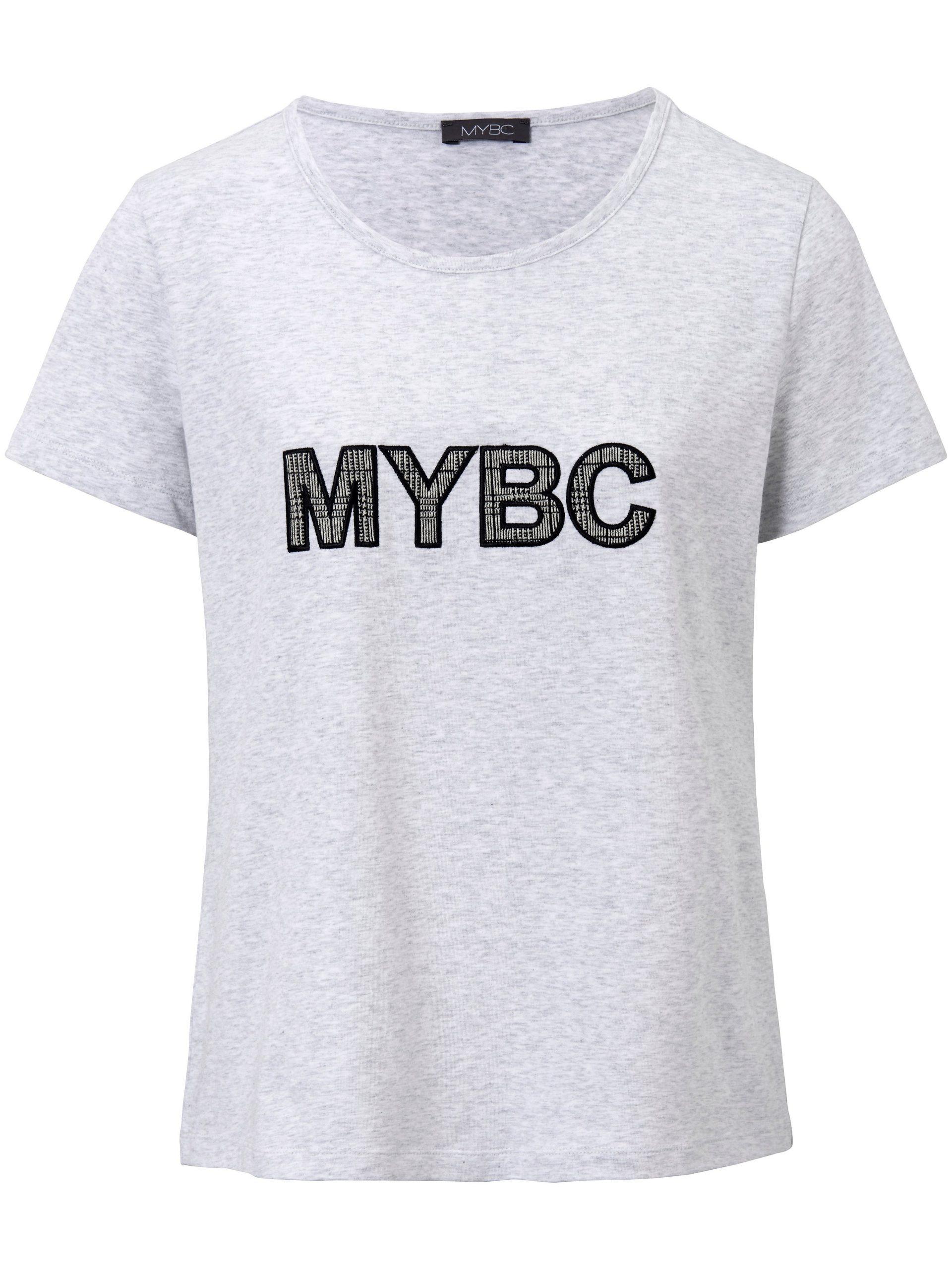 Shirt met ronde hals Van MYBC grijs Kopen