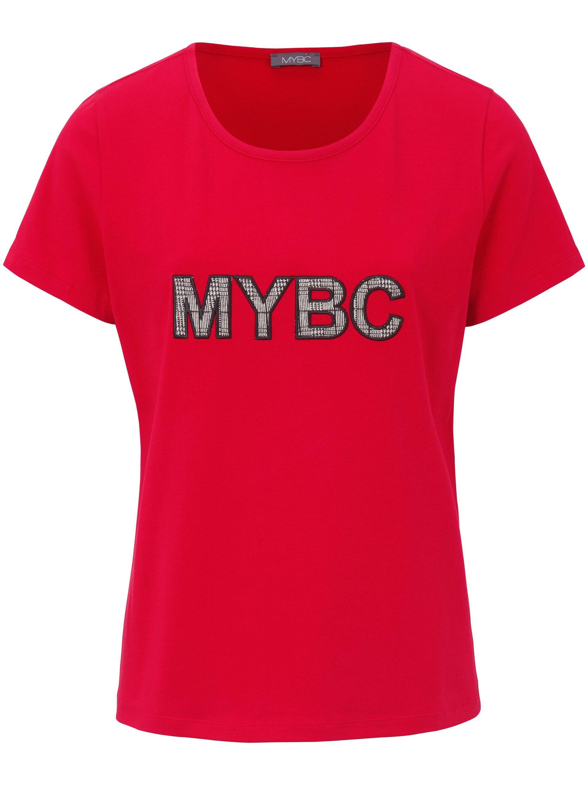 Shirt met ronde hals Van MYBC rood Kopen